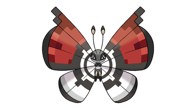 Get a Poke Ball Pattern Vivillon in Pokemon X and Y in North America until August 12th