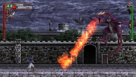 PSP screens of Castlevania: The Dracula X Chronicles awaken from their slumber