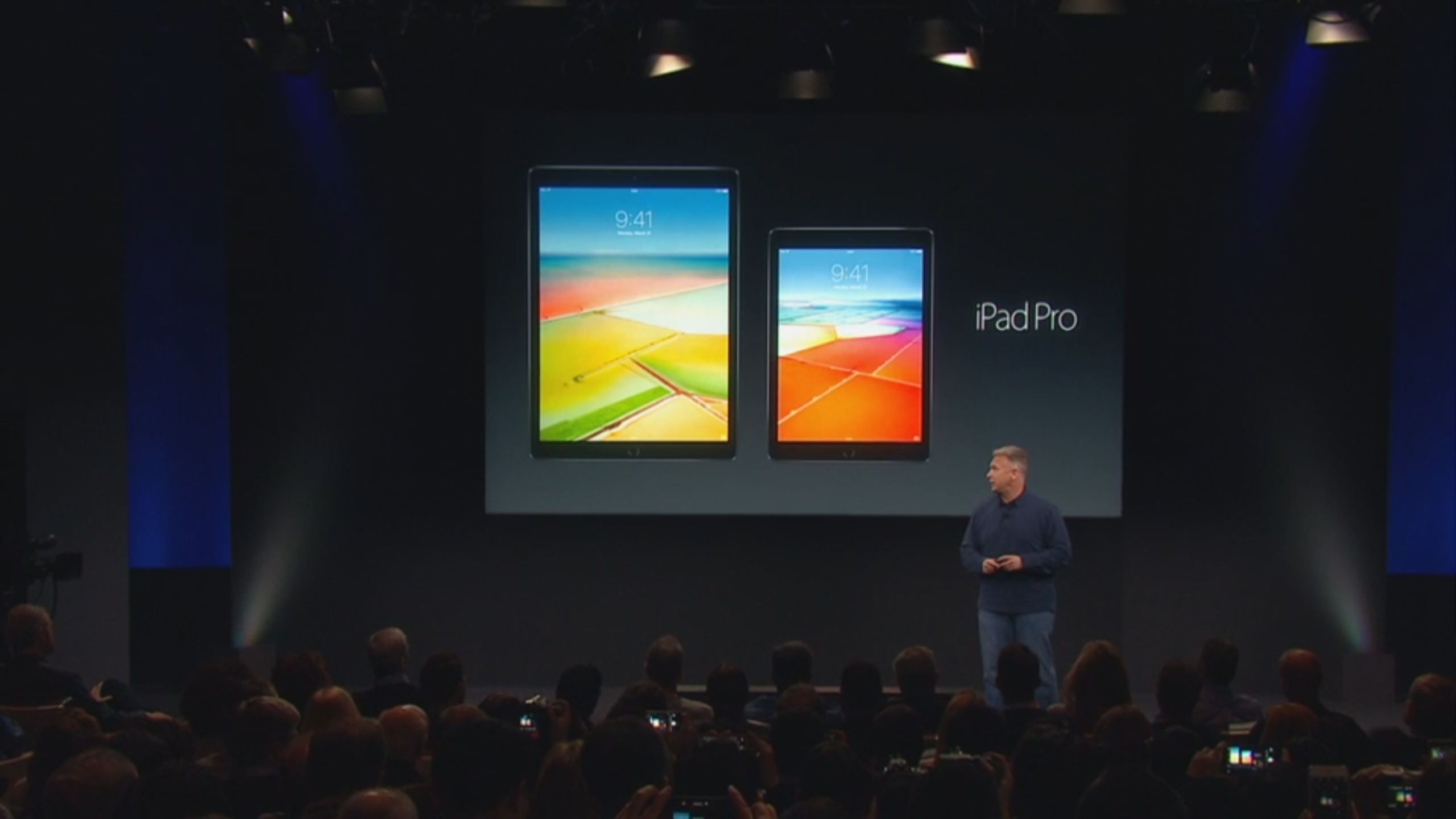 "Apple announces a new 9.7"" iPad Pro, featuring Apple Pencil support and True Tone display"