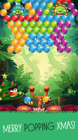 Angry Birds Pop and Angry Birds Seasons get new Christmas-themed levels