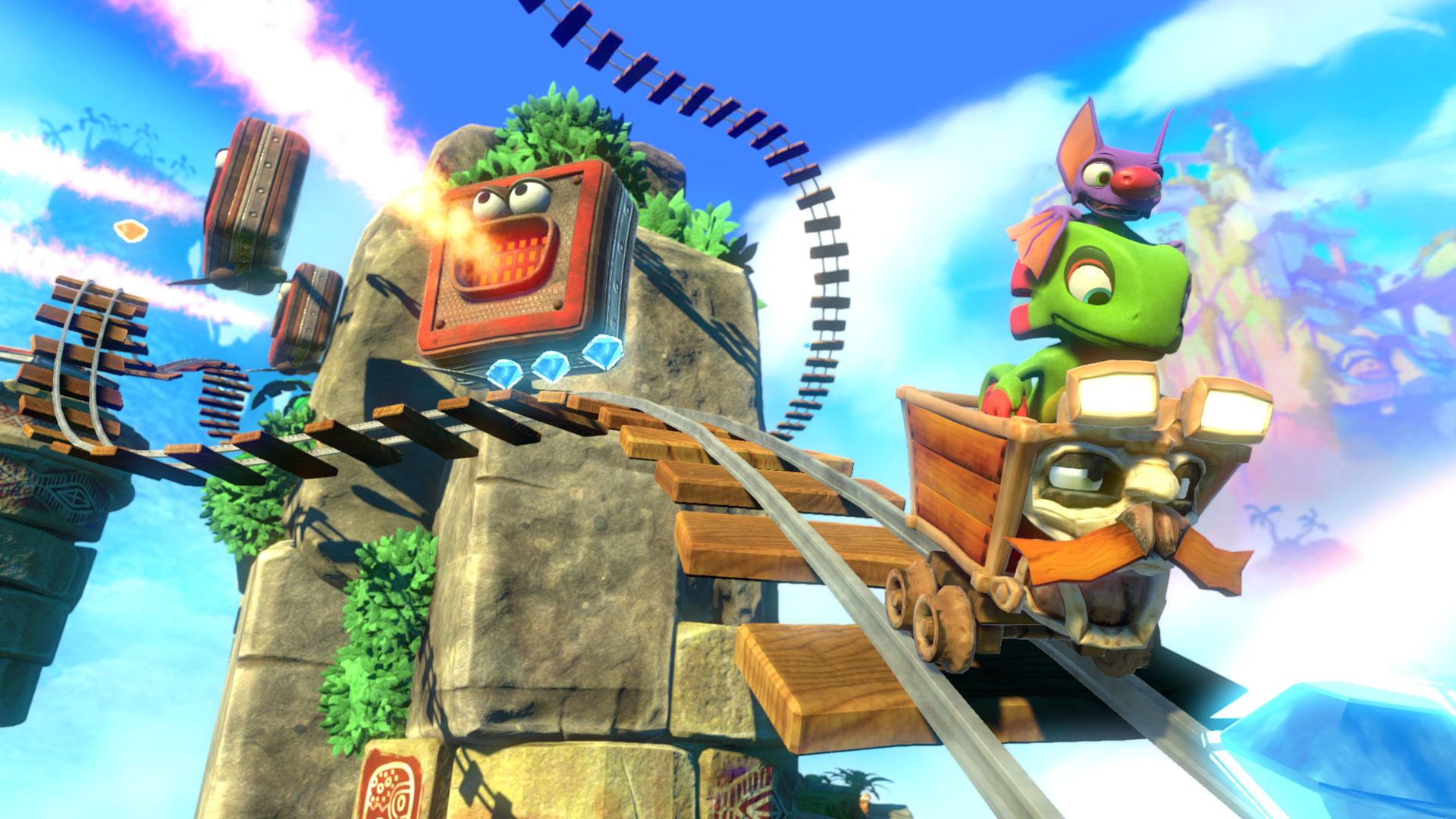 Yooka-Laylee's issues should be fixed by the time the Switch version arrives