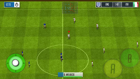 Official England Football is the official game of the England football team and it's out right now on iOS and Windows Phone