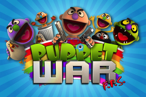 Free iPhone game: Puppet Wars:FPS