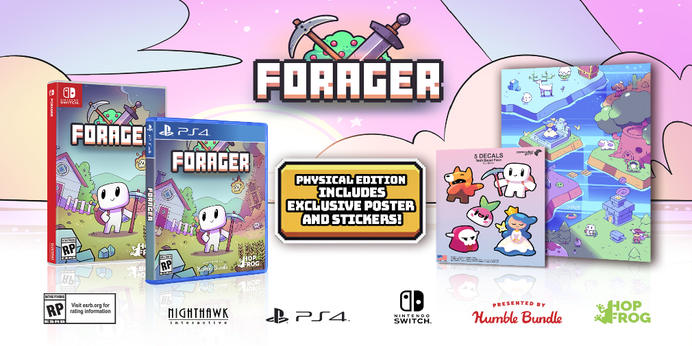 Zelda-like open world adventure game Forager is getting an awesome physical edition