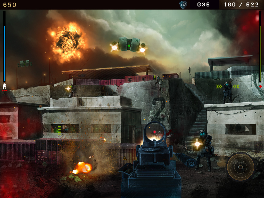 Freemium iPhone and iPad first-person shooter Overkill to be updated with multiplayer mode on March 1st