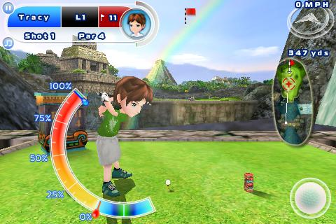 MWC 2011: Gameloft supports LG Optimus 3D with 3D versions of N.O.V.A., Asphalt, Let's Golf! 2