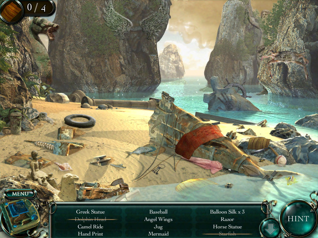 Escape into the skies in iPad hidden object game Empress of the Deep 2