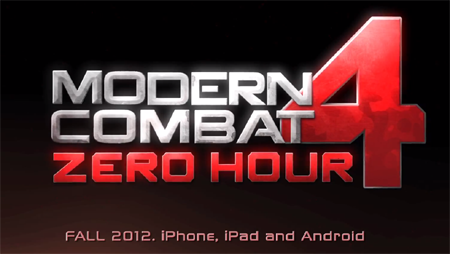 Extended trailer for Modern Combat 4: Zero Hour is twice as explosive