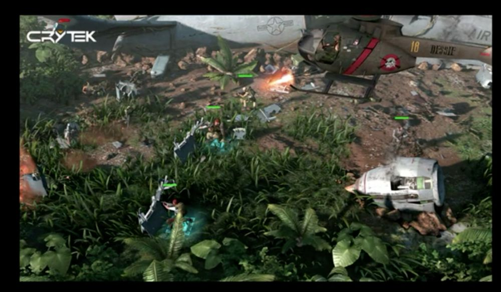 Crysis developer Crytek showcases overhead tactical shooter The Collectibles
