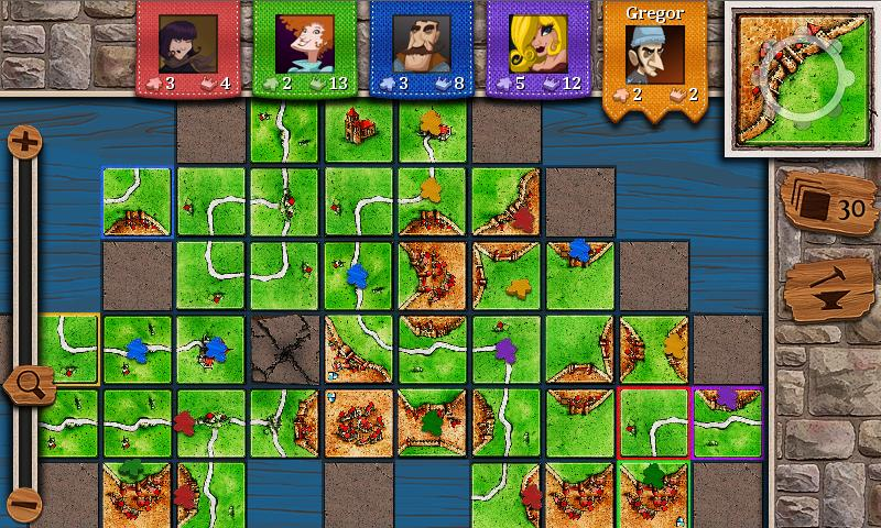 Carcassonne by Exozet Games has been updated for Android and Windows Phone with cross platform multiplayer