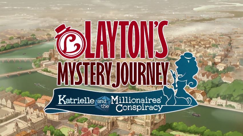 Layton's Mystery Journey: Katrielle and the Millionaires' Conspiracy releases on iOS and Android July 20th