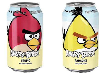 Angry Birds sodas take Russia, coming to the UK soon