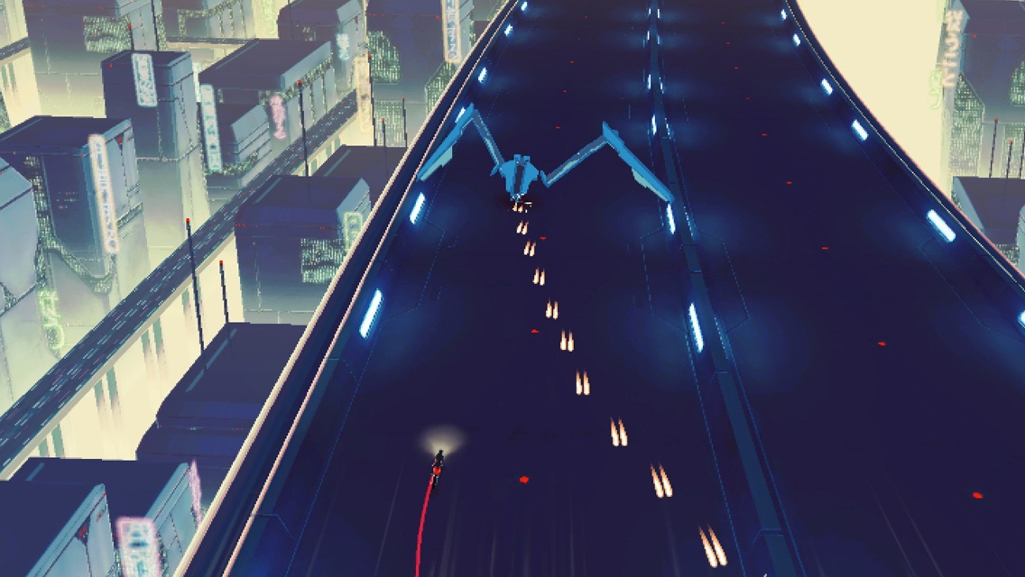 Vektor is a free cyberpunk take on Road Rash, out now on iOS