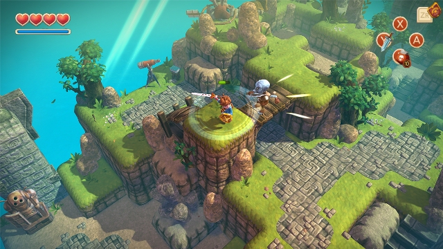 Oceanhorn - Monster of Uncharted Seas is setting sail onto the Switch on June 22nd