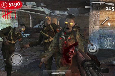 Call of Duty: World at War: Zombies iPhone getting Der Riese ...