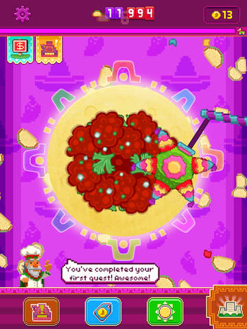 Out at midnight: Noodlecake trades bitcoins for tortillas in new clicker Mucho Taco