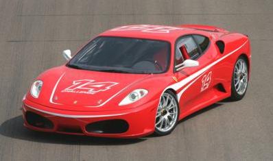 Ferrari Challenge Trofeo Pirelli screeches into the British International Motor Show