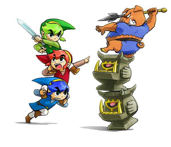 The Legend of Zelda: Tri Force Heroes is set to launch on 3DS in the UK in October