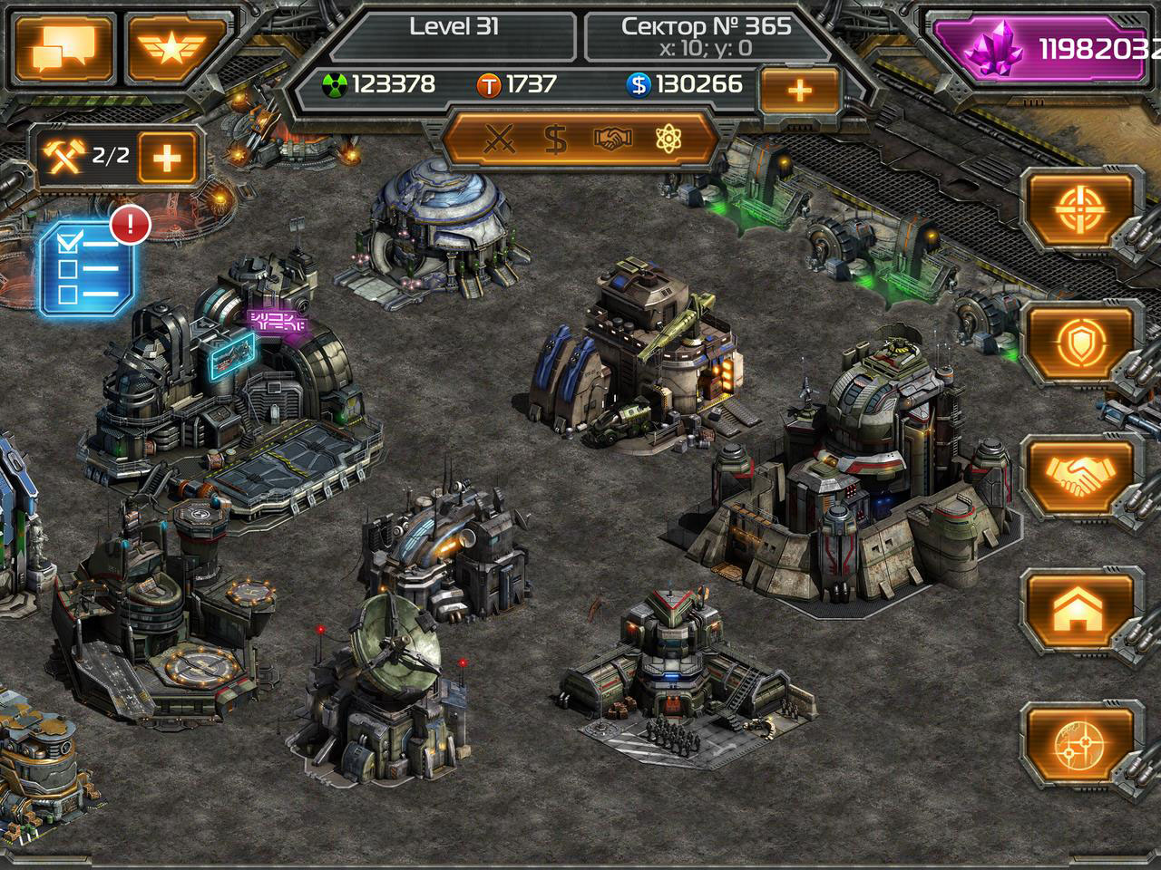 Bronze Award-winning iOS MMO Total Domination - Reborn updated with Mutagen Barrels, in-game FAQ section, and more