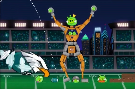 Angry Birds NFL tie-in game with Philadelphia Eagles to be Facebook exclusive