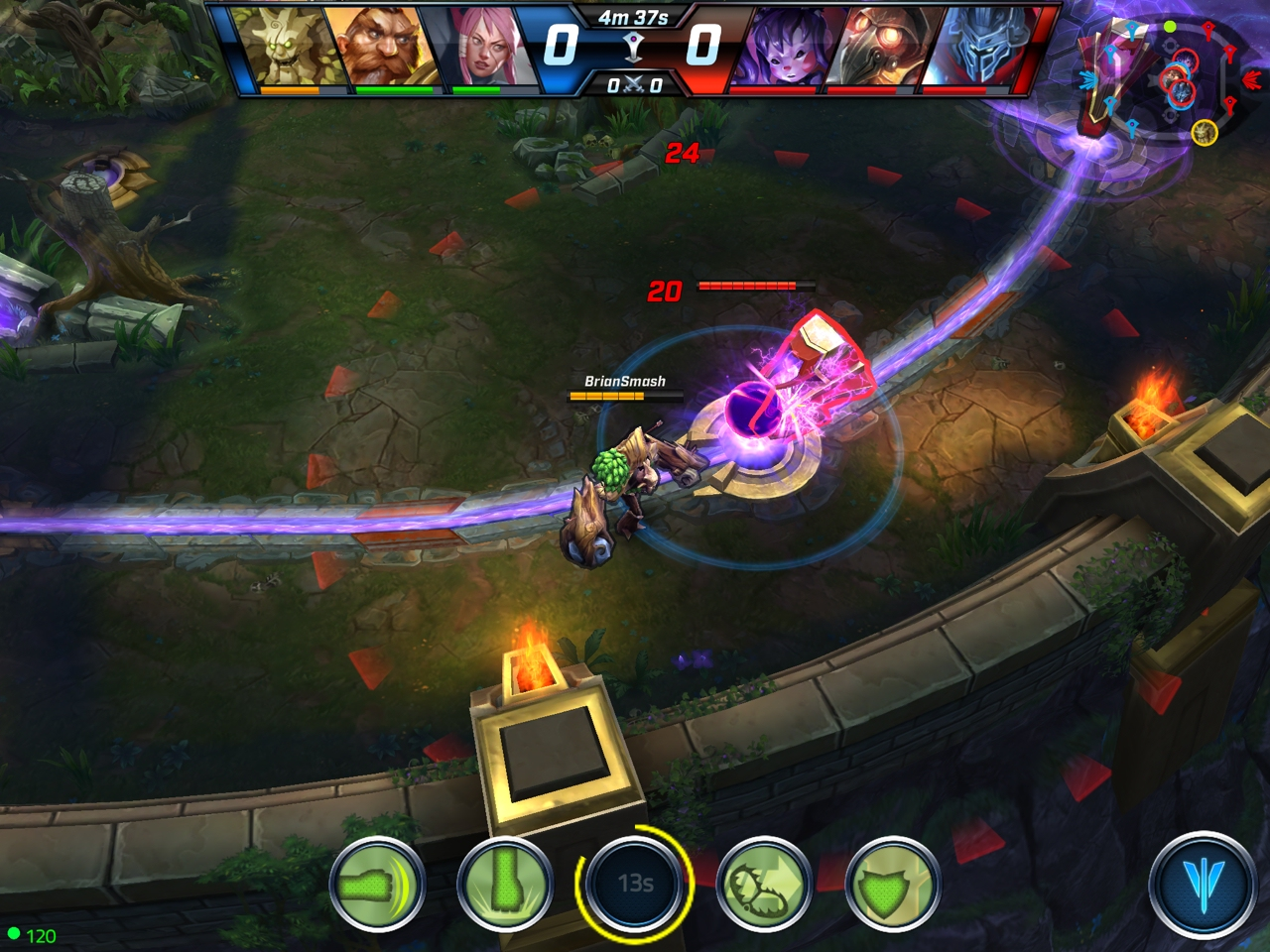 Call of Champions - A mobile MOBA that actually works