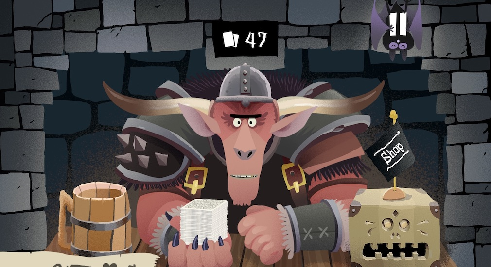 Game of the day - Card Crawl is a dungeon plunge reimagined as a board game