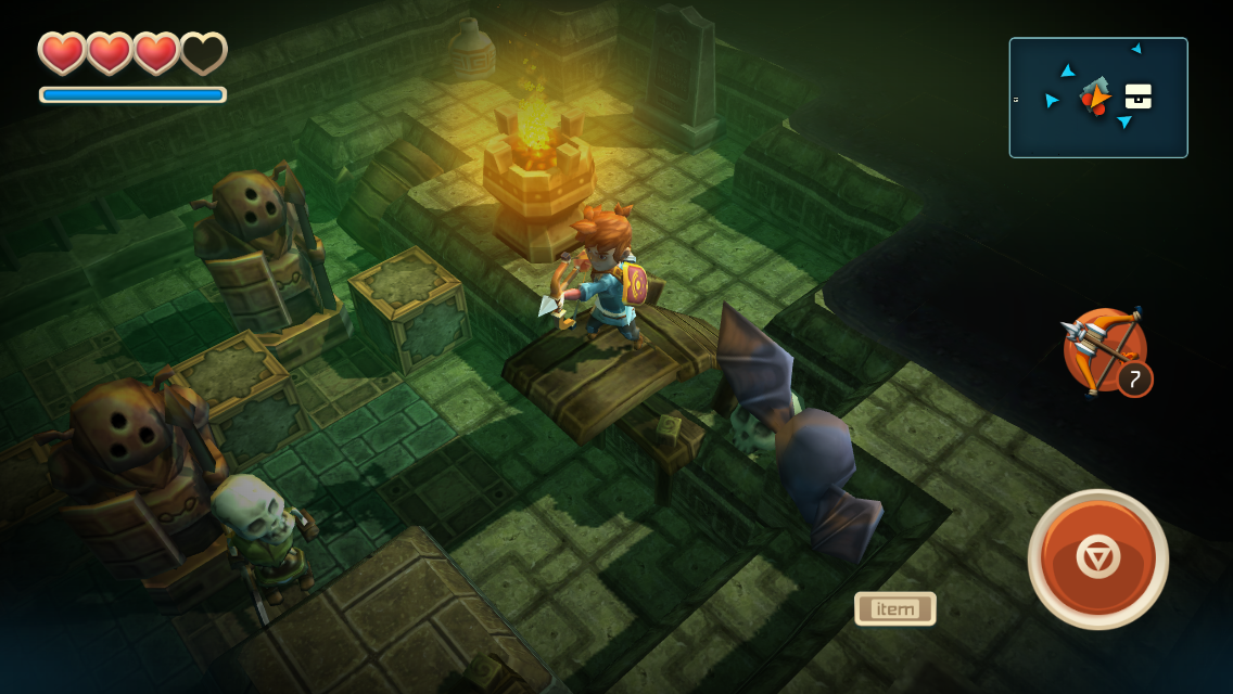 Zelda-like and Silver Award-winning Oceanhorn is finally headed to Android devices later this year