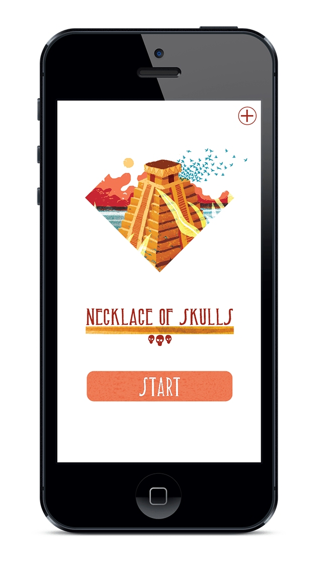 Classic gamebook Necklace of Skulls coming to iPhone and iPad