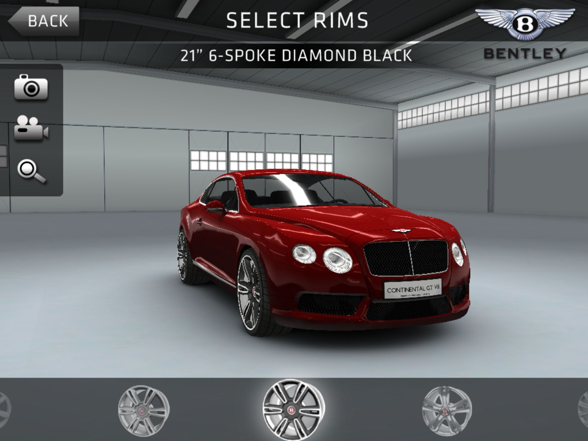 Twin-turbo-powered Bentley Continental GT V8 speeds into free iOS racer Sports Car Challenge