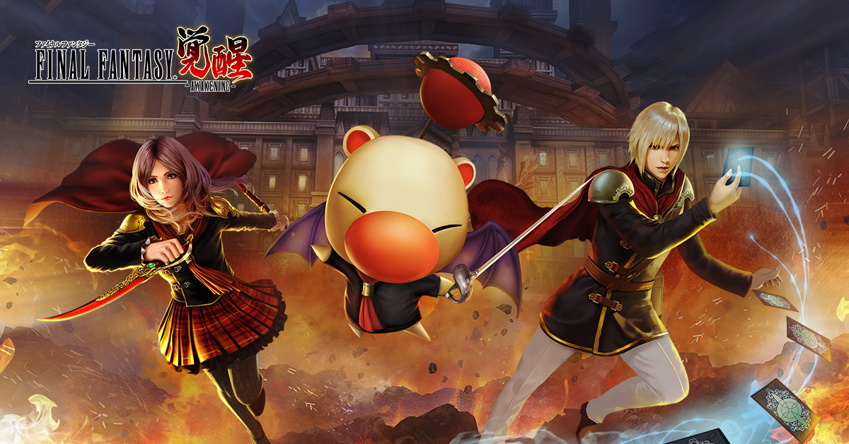 Final Fantasy Awakening soft launches today