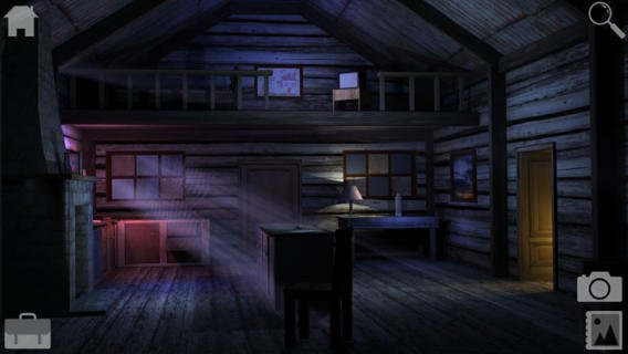 Out at midnight: Cabin Escape is a gloomy point-and-tap prequel to Forever Lost for iPad and iPhone