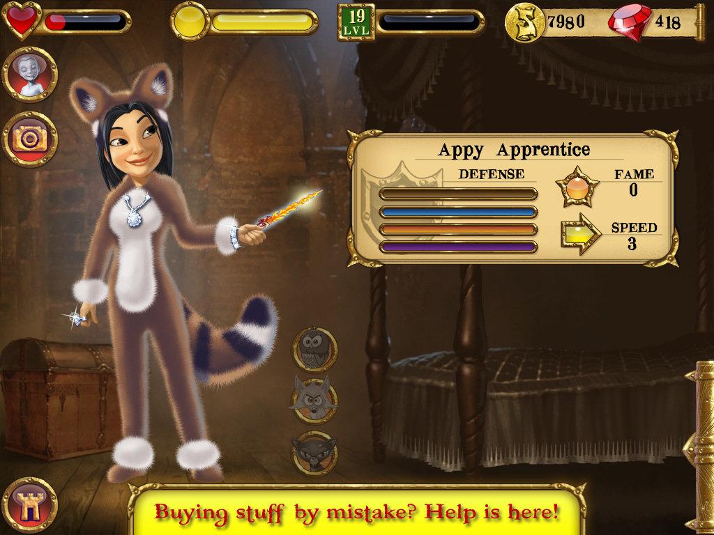 Appy updates SpellCraft adding random loot machine and Mario-style raccoon suit