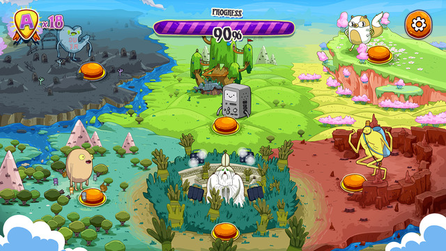 Out at midnight: Rockstars of Ooo - Adventure Time Rhythm Game