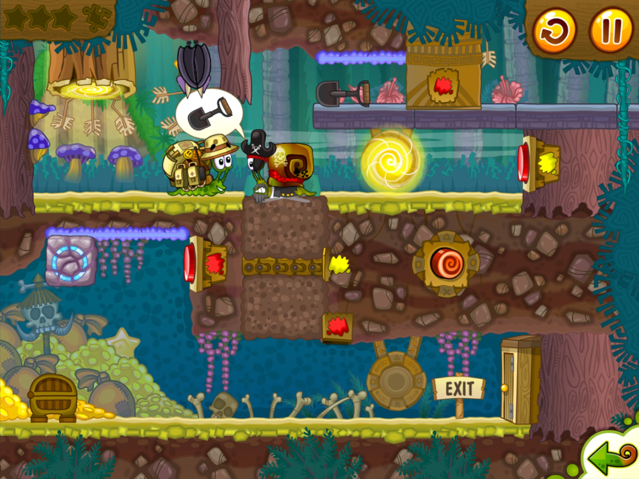 Snail Bob 2 sees the fashion star and puzzle solving mollusc return on iOS today