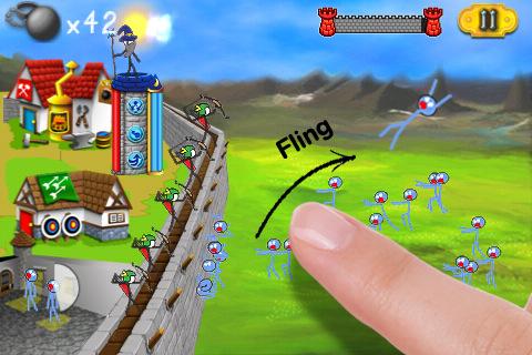 Free iPhone game: StickWars 2