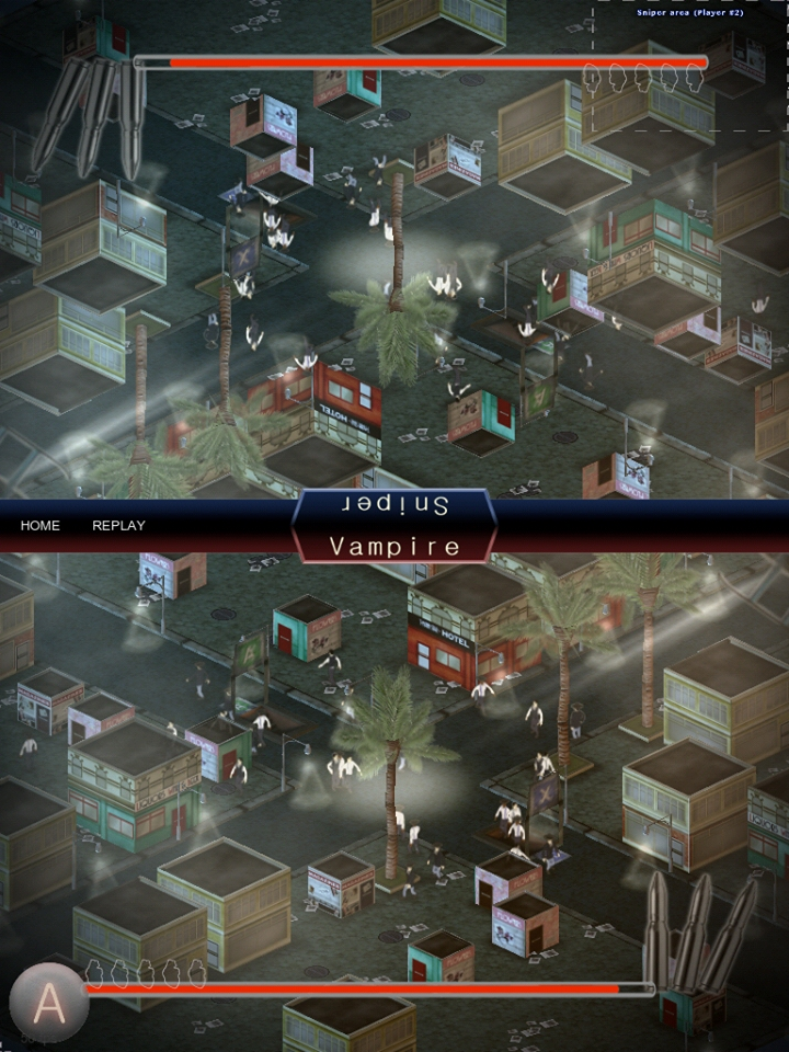 Out at midnight: Hunt vampires or feed on humans in competitive multiplayer iPad game Dark Day LA