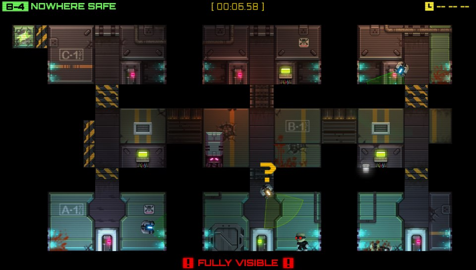 Download Stealth Inc: A Clone in the Dark before August 7th and get Teleporter Chambers DLC for free