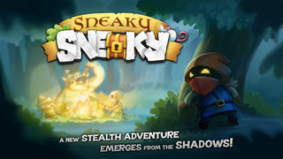 Sneaky Sneaky is a bright and brilliant stealth action game that's out right now for iPhone and iPad