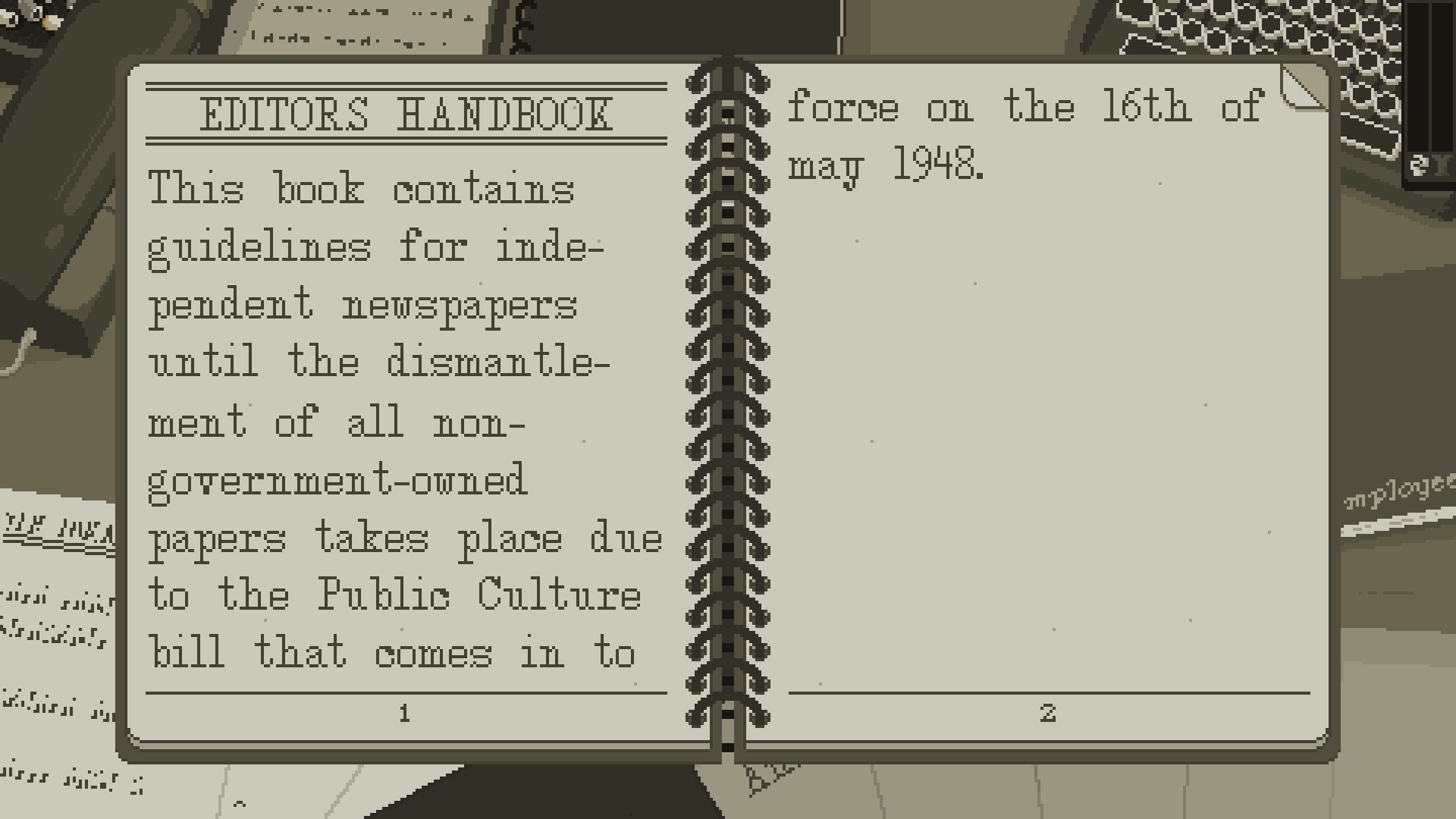 Newspaper censorship sim The Westport Independent is coming to iOS and Android next week