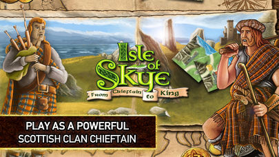How to play digital board game adaptation Isle of Skye for mobile