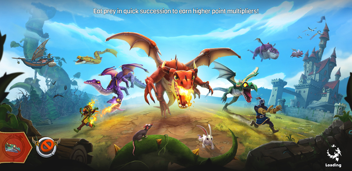 Hungry Dragon cheats and tips - Beginner tips to get eating