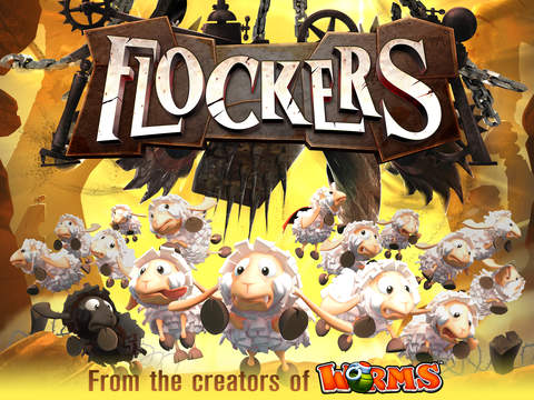 Worms dev Team17 releases wooly puzzler Flockers onto iOS and Android