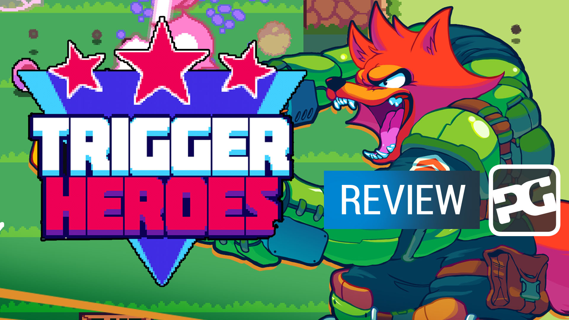 "Trigger Heroes video review - ""A frantic shooter where rushing gets you killed"""