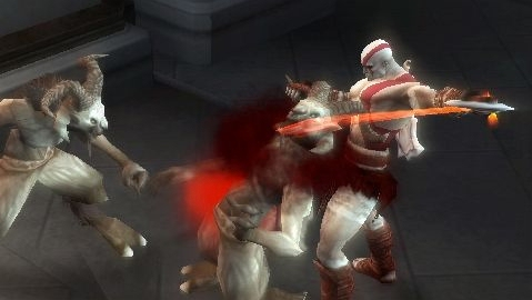 New God of War: Chains of Olympus PSP level revealed