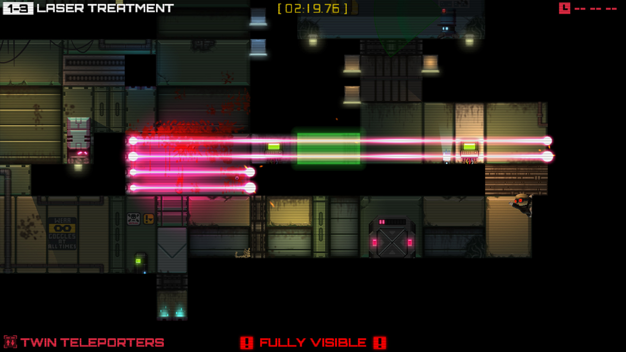 Stealth Inc: The Lost Clones DLC is ready to infiltrate your Vita with 20 new treacherous levels