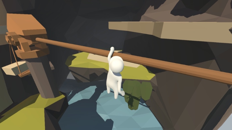 Stumble through physics-based challenges in humorous platformer Human: Fall Flat