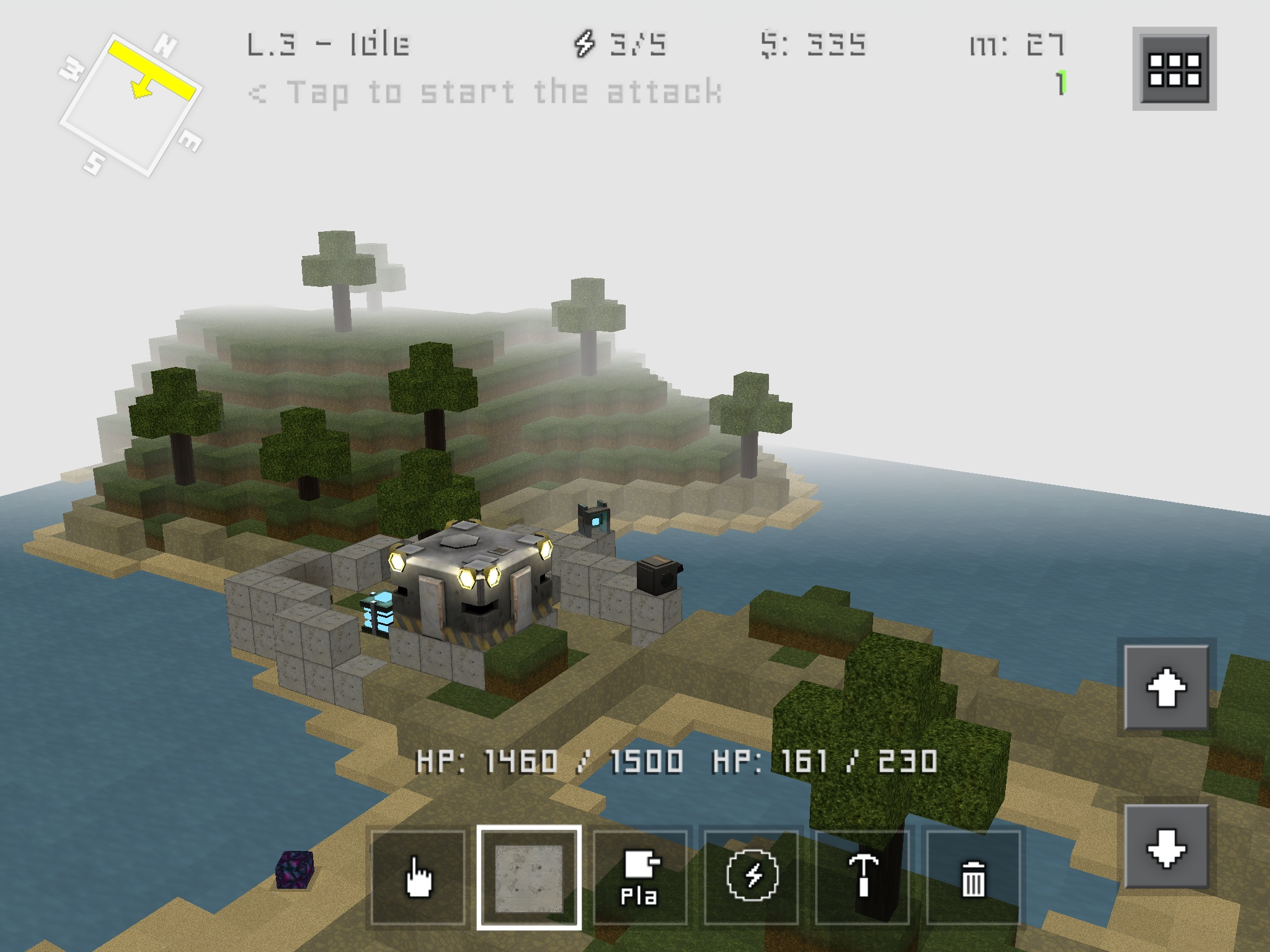 Block Fortress finally brings its mix of Minecraft construction and FPS to Android