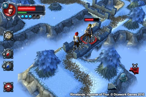 Hands on with epic iPhone RPG Rimelands: Hammer of Thor