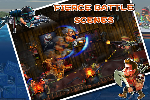 Clone Wars: Metal Slug Deluxe 2012 on iOS isn't what you think it is