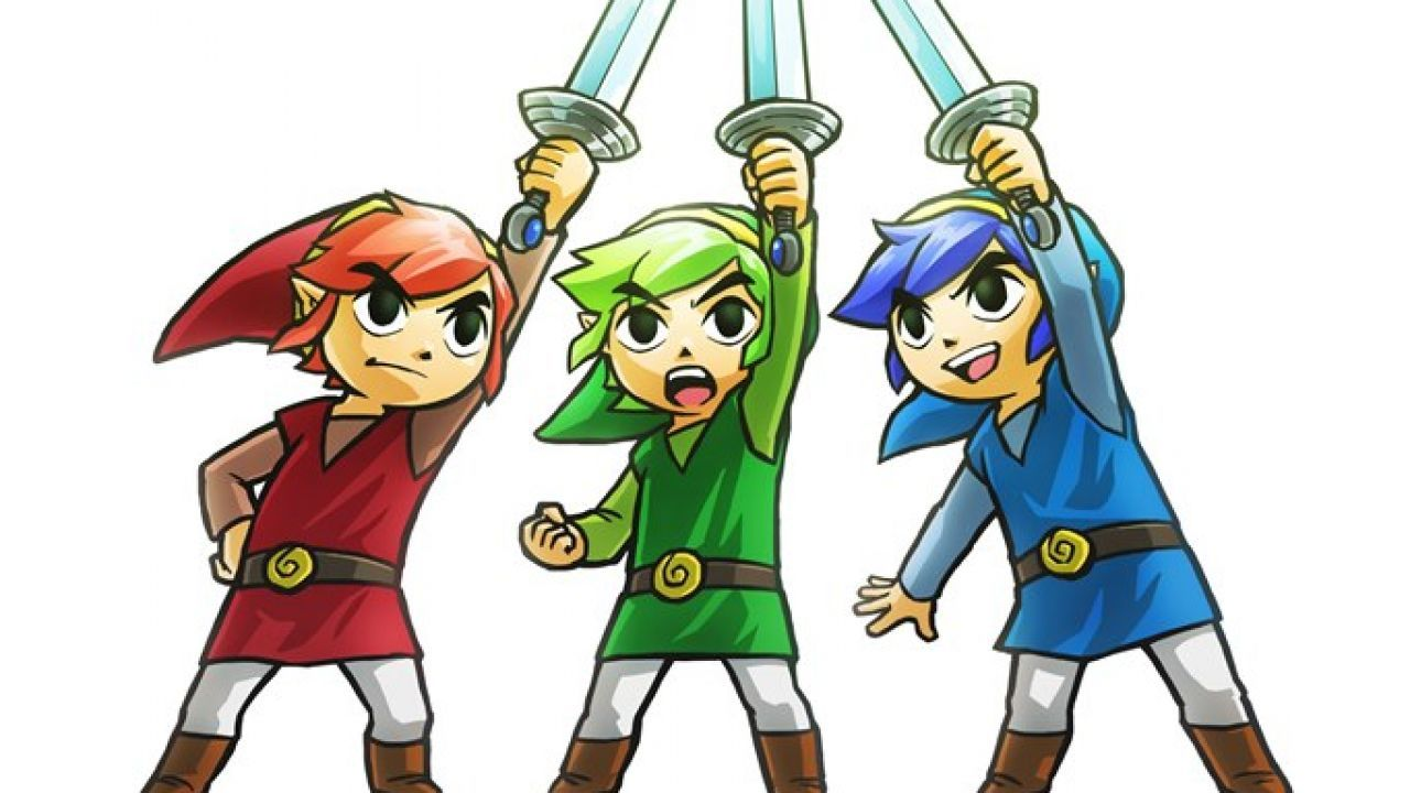 Nintendo: You can't play as a woman in Tri Force Heroes due to the background story